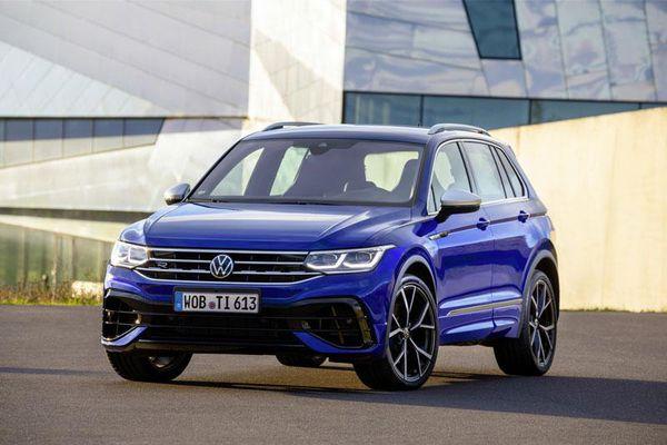 Volkswagen Tiguan R 2021: Công suất 315 mã lực, giá gần 1,6 tỷ đồng