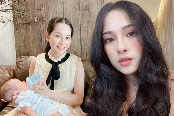 Hậu sinh đôi 1 tháng, bà xã Dương Khắc Linh 'biến hình' như gái 20 từ da đến dáng
