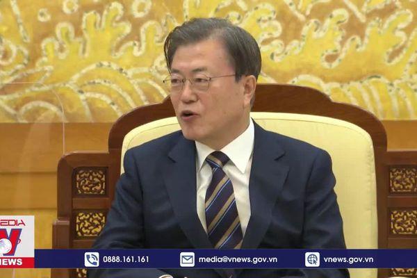Hàn Quốc và Trung Quốc cam kết thúc đẩy hợp tác