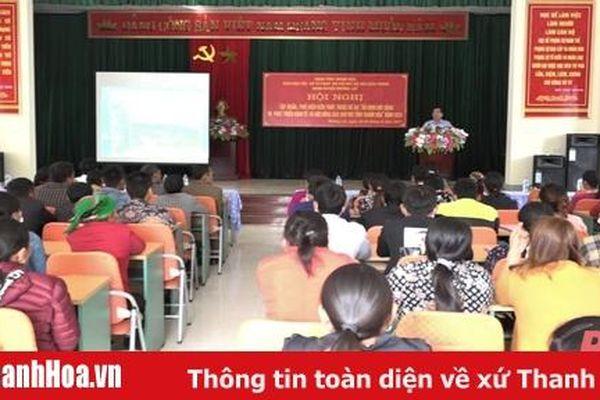 Nâng cao kiến thức cho đồng bào dân tộc Khơ Mú, huyện Mường Lát