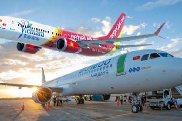 Vietjet Air và Bamboo Airways cũng mong muốn được Chính phủ 'giải cứu' giống Vietnam Airlines