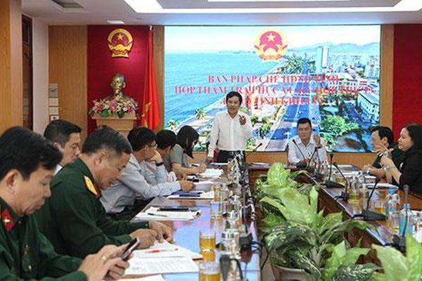 Thẩm tra một số nội dung trình tại kỳ họp thứ 13, HĐND tỉnh Khánh Hòa khóa VI