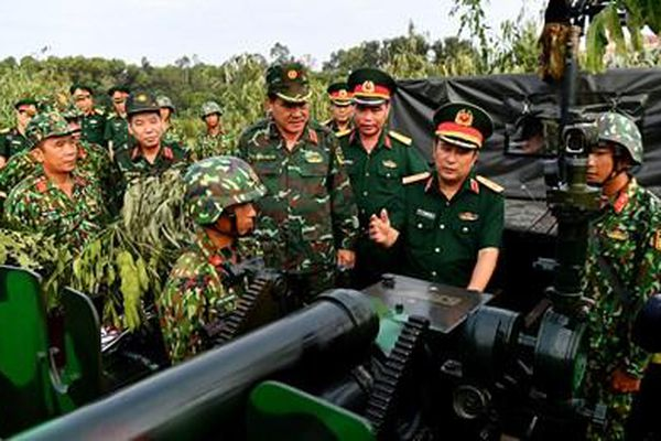 Quân khu 9 diễn tập bắn đạn thật năm 2020