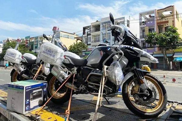 Chi tiết BMW R1250GSA HP gần 700 triệu của CSGT Việt Nam