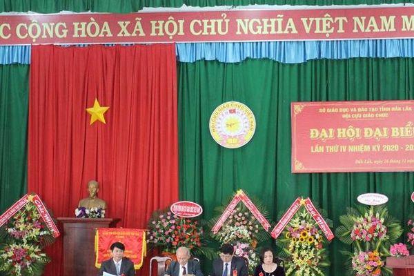 Hội Cựu giáo chức tỉnh Đắk Lắk đặt mục tiêu 80% cơ sở Hội vững mạnh