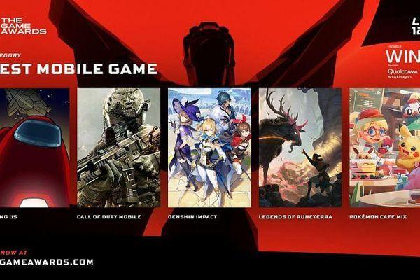 Among Us cạnh tranh Call of Duty Mobile cho giải game di động của 2020