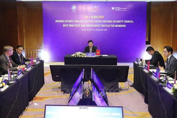 Tăng cường hợp tác giữa các nước Ủy viên không thường trực Hội đồng Bảo an LHQ