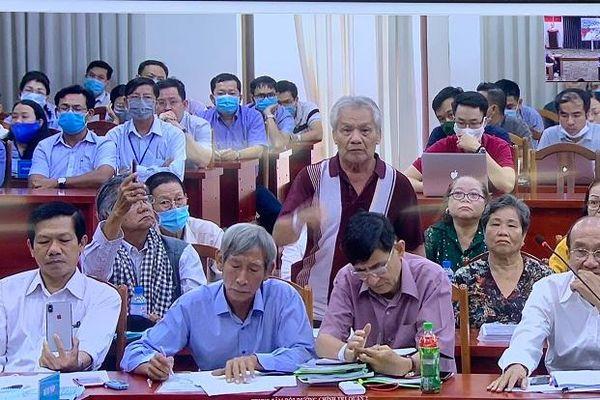 Thanh tra Chính phủ đối thoại với người dân về ranh giới quy hoạch tại Thủ Thiêm
