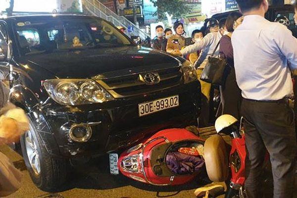 Tài xế gây tai nạn liên hoàn ở Giảng Võ vi phạm nồng độ cồn mức cao nhất