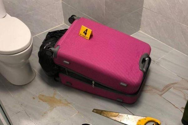 Thi thể người trong vali ở TP.HCM