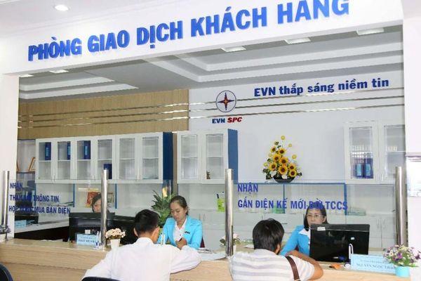 Trên 85 % tiền điện của EVNSPC được thanh toán không dùng tiền mặt