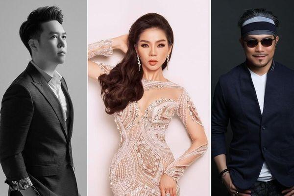 Lệ Quyên góp giọng trong Sunset show 'Người tình' của Jimmii Nguyễn, Lê Hiếu