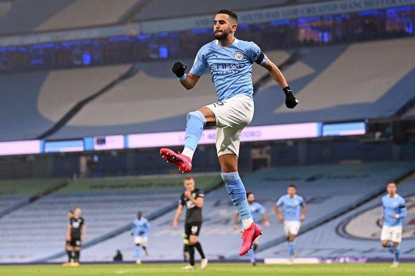 Man City 3-0 Burnley: Mahrez bùng nổ với cú đúp (H1)