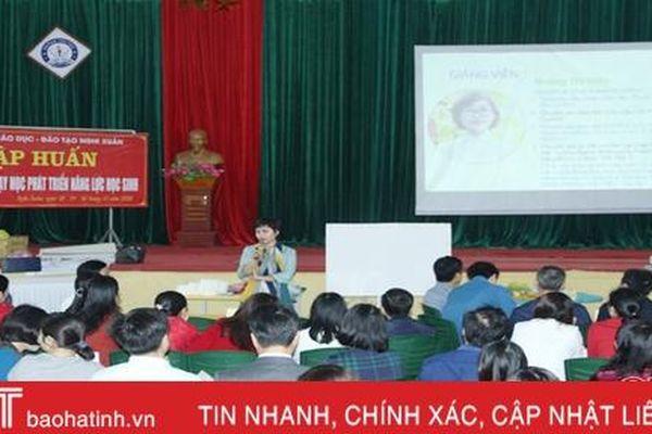 Nâng cao kiến thức phát triển năng lực học sinh cho giáo viên Nghi Xuân