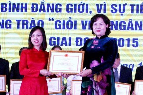 Phong trào phụ nữ 'giỏi việc Ngân hàng, đảm việc nhà' có sức lan tỏa mạnh mẽ