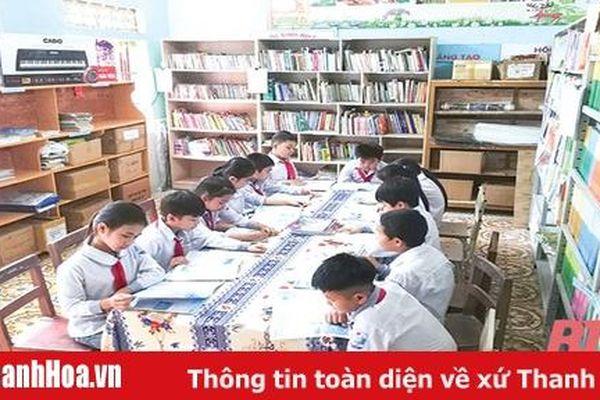 Xây dựng mô hình thư viện ở Trường Tiểu học Hưng Lộc 1
