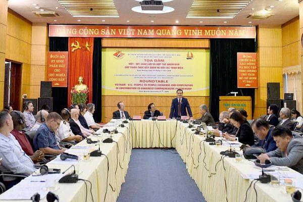 Tọa đàm Việt - Mỹ: khẳng định vai trò của giao lưu, hợp tác nhân dân từ Tân Trào năm 1945