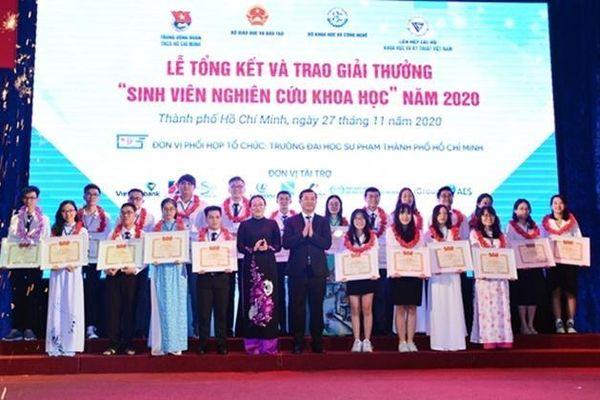 Đại học Đà Nẵng đạt giải Nhất 'Sinh viên nghiên cứu khoa học toàn quốc năm 2020'