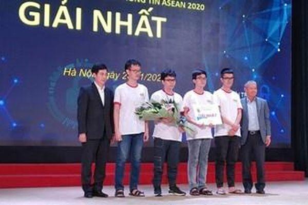 Trường Đại học Khoa học tự nhiên vô địch Cuộc thi 'Sinh viên với An toàn thông tin ASEAN 2020'