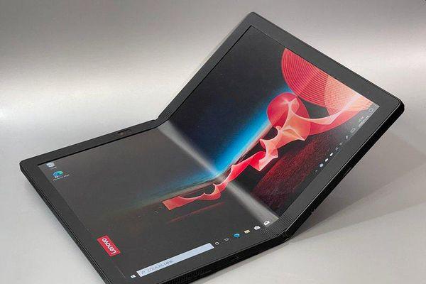 Lenovo ThinkPad X1 Fold thiết kế độc đáo, màn hình OLED 13.3 inch có thể gập đôi