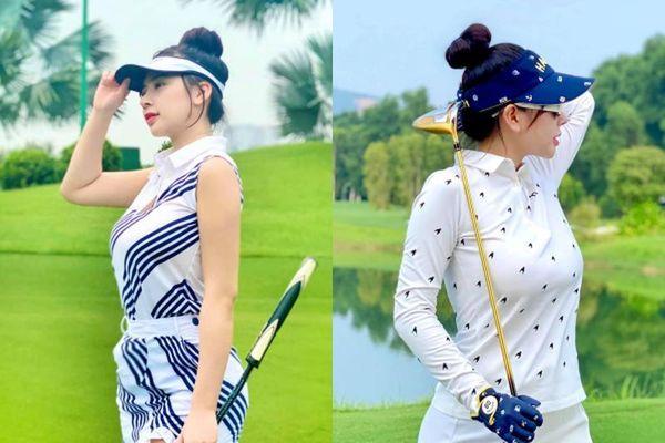 Chân dung hot girl làng golf khiến ai cũng 'dán mắt' vì body nuột nà