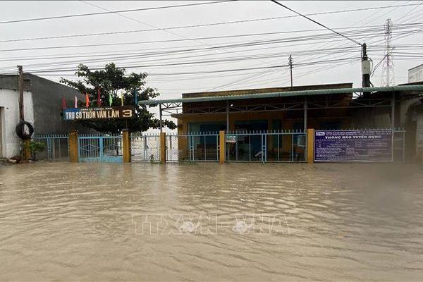 Mưa lũ gây thiệt hại tại nhiều địa phương của tỉnh Ninh Thuận