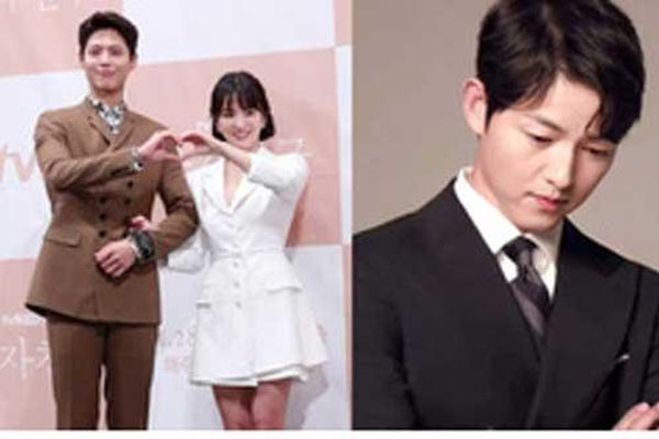 Bộ ảnh Song Hye Kyo ngọt ngào bên cạnh Park Bo Gum hot trở lại sau 2 năm, Song Joong Ki liền bị réo gọi vì nghiệt duyên