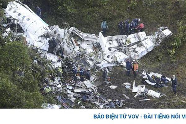 Ngày này năm xưa: CLB Brazil mất 19 cầu thủ do tai nạn máy bay