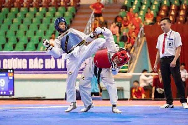 Hà Nội giành 2 Huy chương vàng tại Giải vô địch Taekwondo quốc gia năm 2020