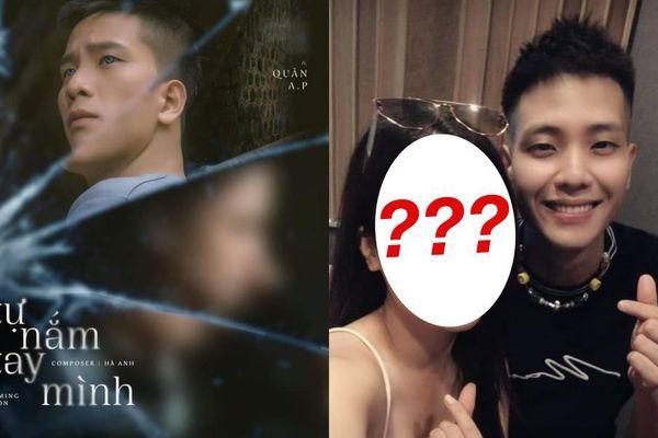 Quân A.P 'thả thính' poster mới kết hợp với ca sĩ giấu tên nhưng vẫn bị 'soi' ra nữ chính
