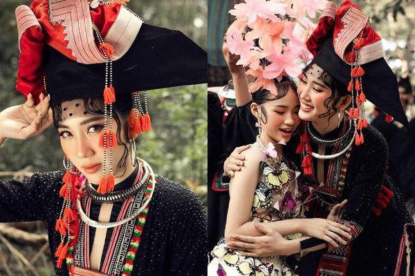 Thúy Ngân 'hóa thân' thành cô gái dân tộc xinh đẹp cuốn hút giữa rừng thông