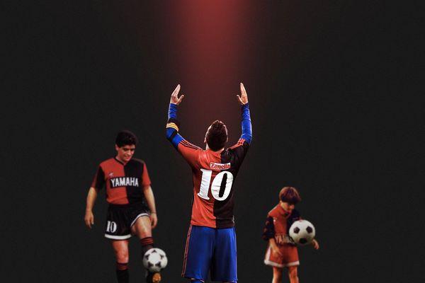 Barca bị phạt tiền vì hành động tri ân Maradona của Messi