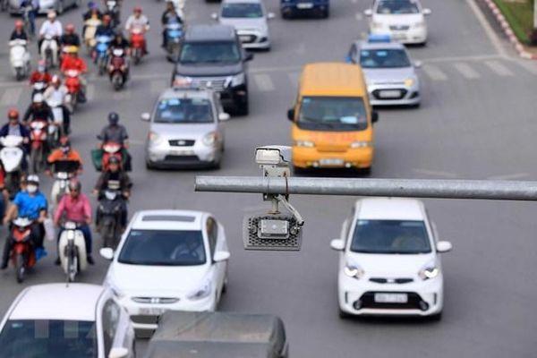 Gần 16.000 tài xế ở Hà Nội bị phạt 'nguội' trong một năm qua