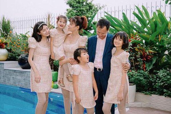 Vũ Thu Phương: 'Ông xã thích sự trìu mến và tình cảm của những cô con gái'
