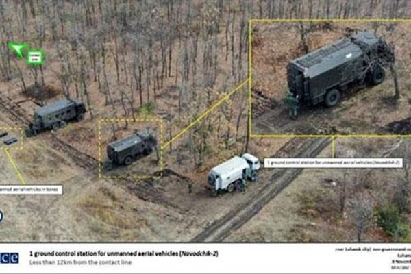 OSCE phát hiện vũ khí tối tân của Nga tại Donbass