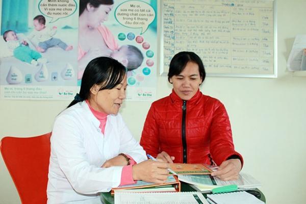 100% phụ nữ trong độ tuổi sinh đẻ được tiếp cận thuận tiện với các biện pháp tránh thai hiện đại
