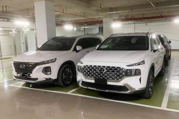 Hyundai Santa Fe phiên bản mới xuất hiện tại Việt Nam