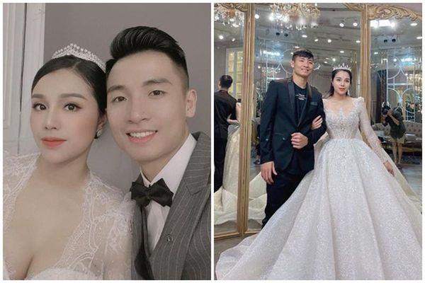'Tư Dũng' tung hình cưới, ngoại hình cô dâu gây chú ý