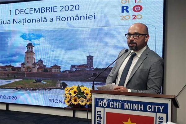 TP Hồ Chí Minh kỷ niệm 102 năm Quốc khánh Cộng hòa Romania