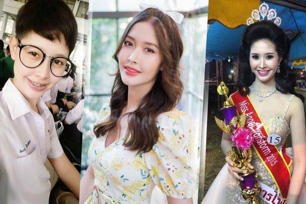 Tân Hoa hậu Chuyển giới Thái Lan xinh đẹp từ bé, nhan sắc không phẫu thuật thẩm mỹ khiến fan ngã gục