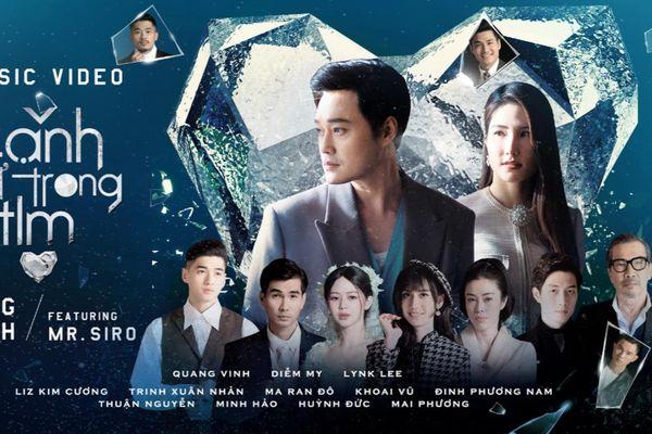 Quang Vinh trở lại với âm nhạc bằng ca khúc 'lụi tim' từ Mr.Siro, MV quy tụ dàn khách mời 'khủng'