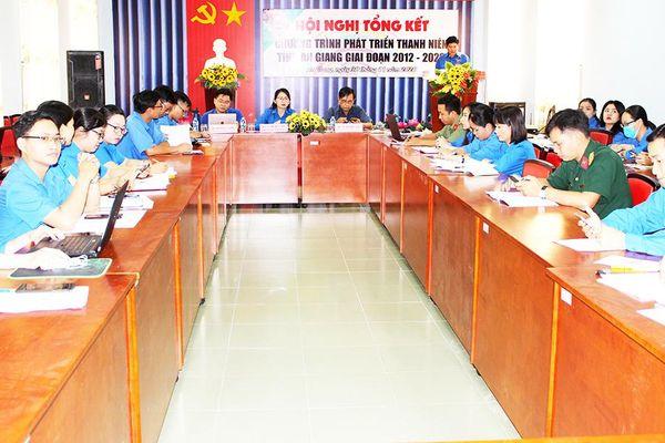 Tổng kết Chương trình phát triển thanh niên An Giang giai đoạn 2012 – 2020