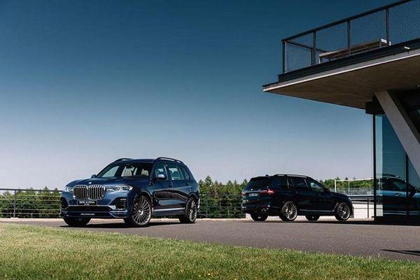Alpina XB7 2021 - SUV hạng sang cỡ lớn hơn 3,2 tỷ đồng