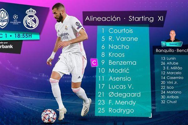 Trực tiếp Shakhtar vs Real Madrid: Benzema đeo băng đội trưởng