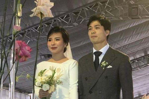 Xe đắt tiền đón dâu, rạp cưới và số khách mời 'khủng' trong ngày cưới của Công Phượng ở quê nhà