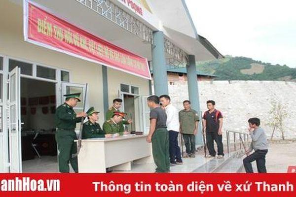 Đồn Biên phòng Tam Chung vận động Nhân dân giao nộp vũ khí, vật liệu nổ, công cụ hỗ trợ