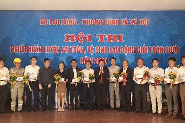 EVNHANOI giành giải A Người huấn luyện an toàn, vệ sinh lao động giỏi toàn quốc năm 2020