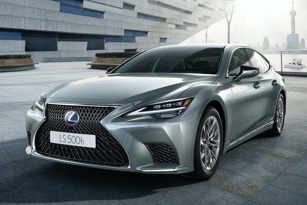 Lexus LS 2021 được ra mắt tại Thái Lan