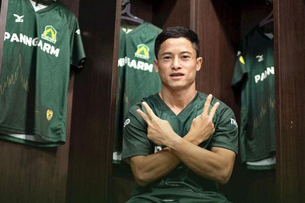 Sao Lào gia nhập đội bét bảng giải hạng Hai Thái Lan