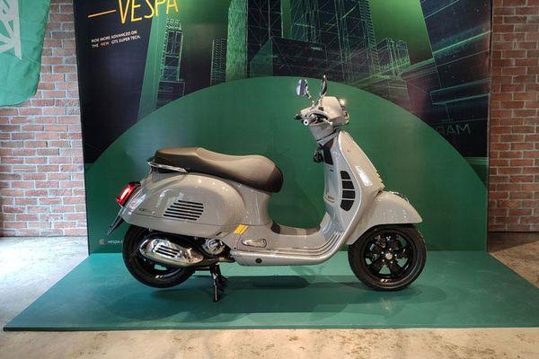 Vespa ra mắt xe ga mới giá gần 190 triệu, cạnh tranh với Honda SH 300i